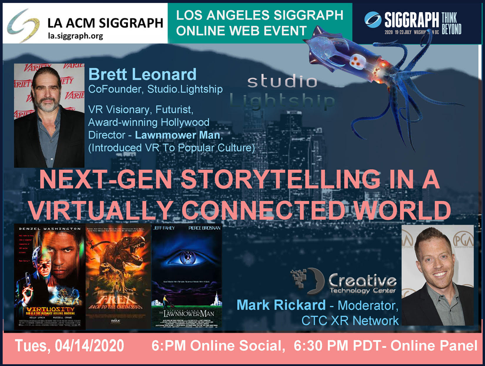 LA ACM SIGGRAPH Hosts Next Gen Story Telling in a Virtually Connected World Event