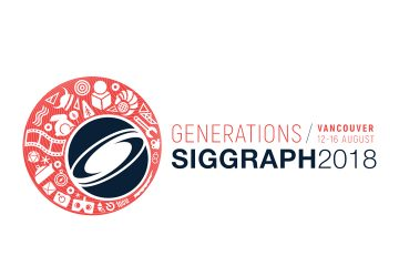 SIGGRAPH 2018 Banner