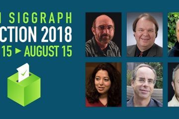SIGGRAPH ELECTION Candidates 2018
