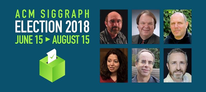 SIGGRAPH ELECTION Candidates 2018