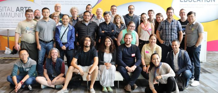 SIGGRAPH 2018 Chapter Leaders in Vancouver