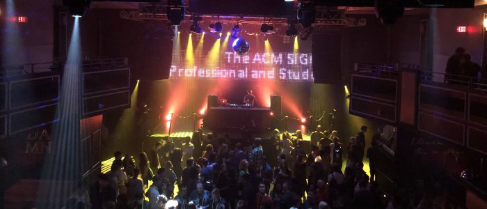 SIGGRAPH 2018 Chapters Party